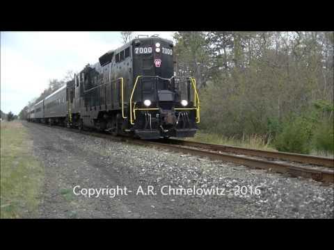 Cape May Seashore Lines (CMSL) URHS Excursion Train- April 23, 2016