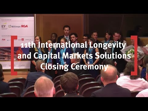 Closing Ceremony: 11th International Longevity Risk & Capital Markets Solutions Conference