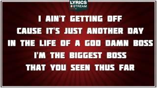 The Boss - Rick Ross tribute - Lyrics