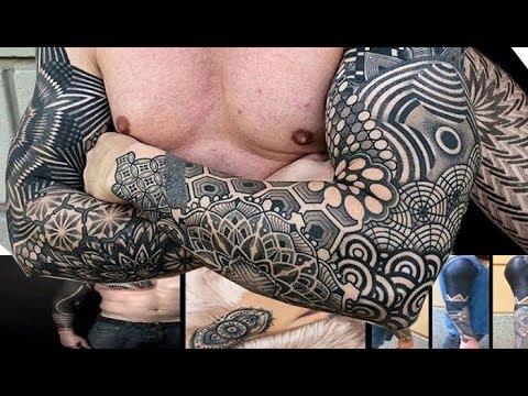 Tatuajes Geometricos Brazos Youtube