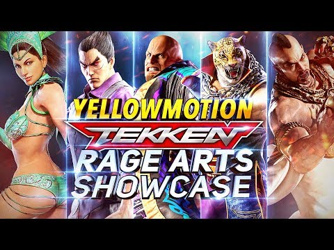 TEKKEN MOBILE | All Characters Rage Arts Showcase Compilation / Pre Launch