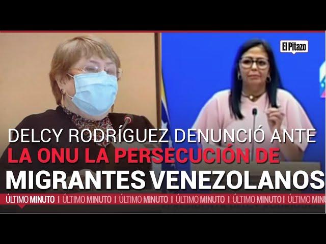 Gobierno de Maduro denuncia ante Bachelet
