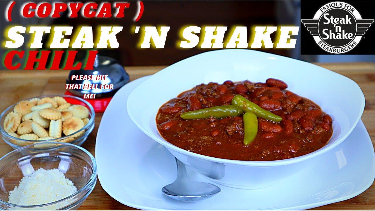 Steak And Shake Chili Recipe