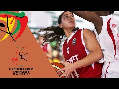 Mozambique v Egypt - Full Game - 3rd Place - FIBA U16 Women's African Championship