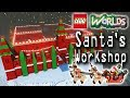 Designing and Building in Lego Worlds: Building Santa's Workshop in the Seasonal Biome!