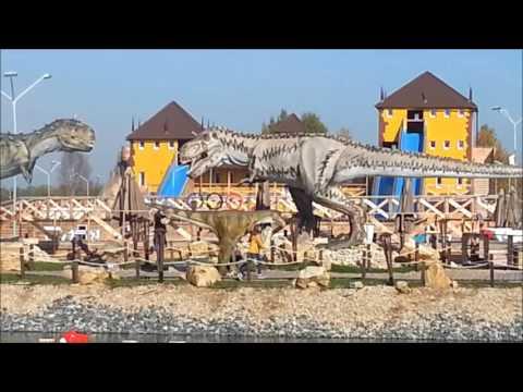 Dinosaurs in the city of Kirov film16