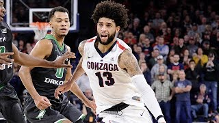 HIGHLIGHTS: #12 Gonzaga Narrowly Escapes North Dakota in Overtime | Stadium