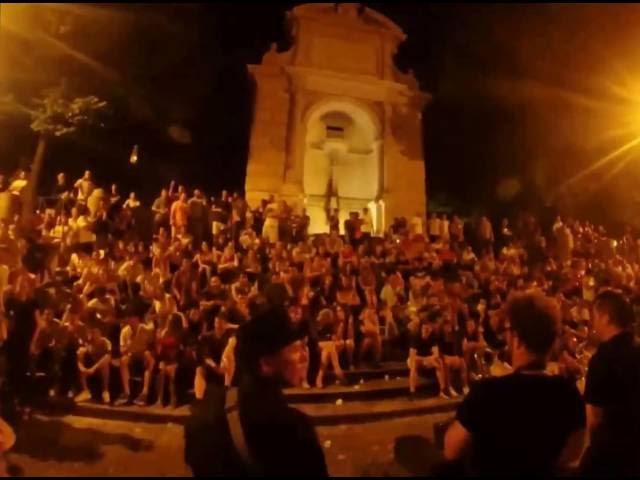 SKROKS - Thrift Shop - Macklemore - Place Trilussa - ROME - Italie