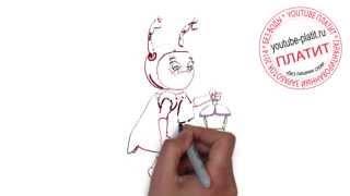 Смотреть мультфильм Лунтик  Как быстро за 45 секунд карандашом рисовать Милу из мультфильма про Лунт(СМОТРЕТЬ МУЛЬТФИЛЬМ ЛУНТИК ОНЛАЙН. Как правильно нарисовать персонажей мультфильма про Лунтика онлайн..., 2014-10-02T14:19:50.000Z)