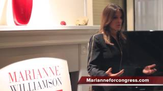 Marianne Williamson on the Political Status Quo