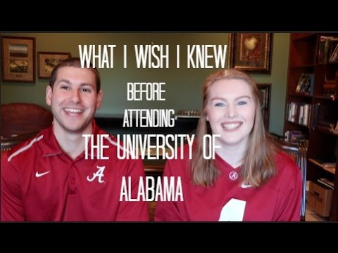 What I Wish I Knew Before Attending The University of Alabama | Nick & Dani