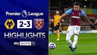 Lingard scores SENSATIONAL solo goal | Wolves 2-3 West Ham | Premier League Highlights