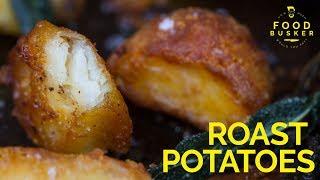 ROAST POTATOES   How to make roast potatoes crispy