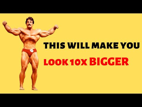 3 Muscle That Will Make You Look 10X BIGGER