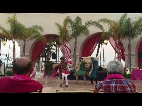 Sikandra & Rikin - Groom Mehndi Dance #tankful2016 - Watch in HD