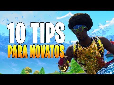 FORTNITE - TOP 10 TIPS para Novatos