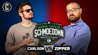 Innergeekdom Tournament! Mike Carlson VS Eric Zipper - Movie Trivia Schmoedown