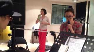 范范和小s一起為lovelive演唱會彩排...