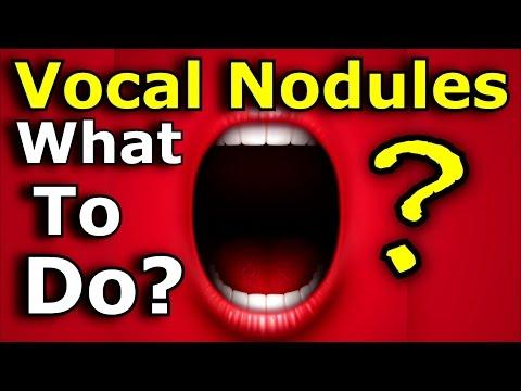 Vocal Nodules - Nodes - Polyps - What To Do - Ken Tamplin Vocal Academy