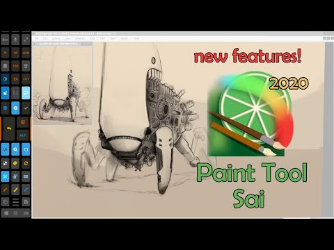 Paint Tool Sai 2020 - New Update! New Features! Lots Of Big Additions And Improvements For Artists