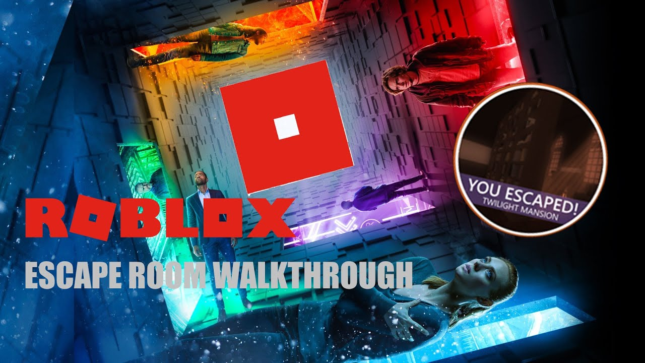 Roblox Escape Room Twilight Manor Walkthrough Youtube