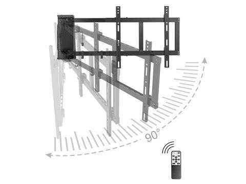 monlines myswing 04 tv wandhalterung elektrisch - Motorisierte Tvhalterung