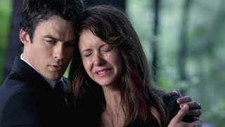 The Vampire Diaries 5x04 Bonnie's funeral & reminiscence Music: Birdy - Without a Word