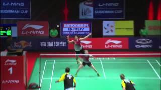 QF - XD (Highlight) - M.Fuchs/ B.Michels vs Ko S.H./ Kim H.N. - 2013 Sudirman Cup