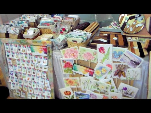 Don't make this mistake at your next craft fair! {Successful Craft Fair Tips-Art Marketing Video!}