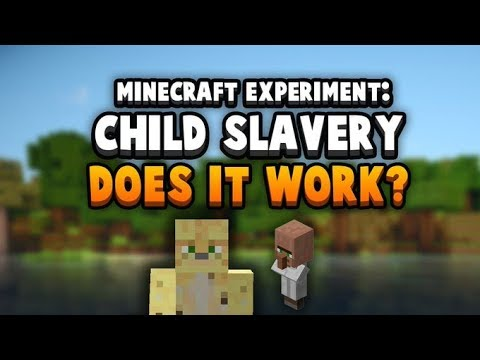 Is Child Labour Effective? (Minecraft Realm Experiment)