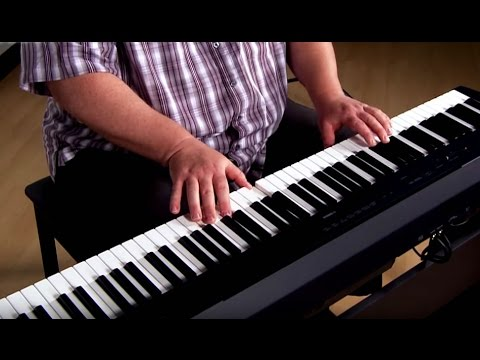 Kraft Music - Yamaha P-115 Digital Piano Performance with Adam Berzowski