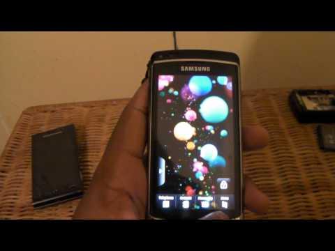 Kinetic Scrolling in the Samsung i8910 Omnia HD
