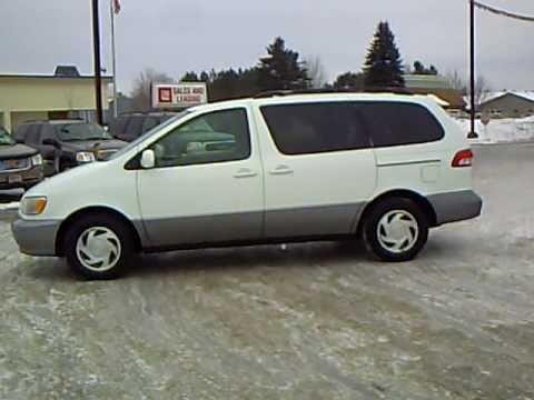 2002 Toyota Sienna Xle Youtube