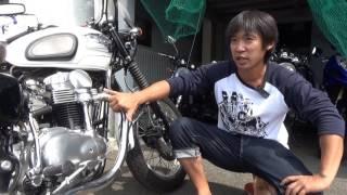 カワサキW650ファイナルエディション:エンジンの形についての話