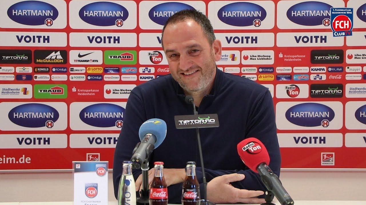 Pressegespräch vor dem Heimspiel gegen den Hamburger SV