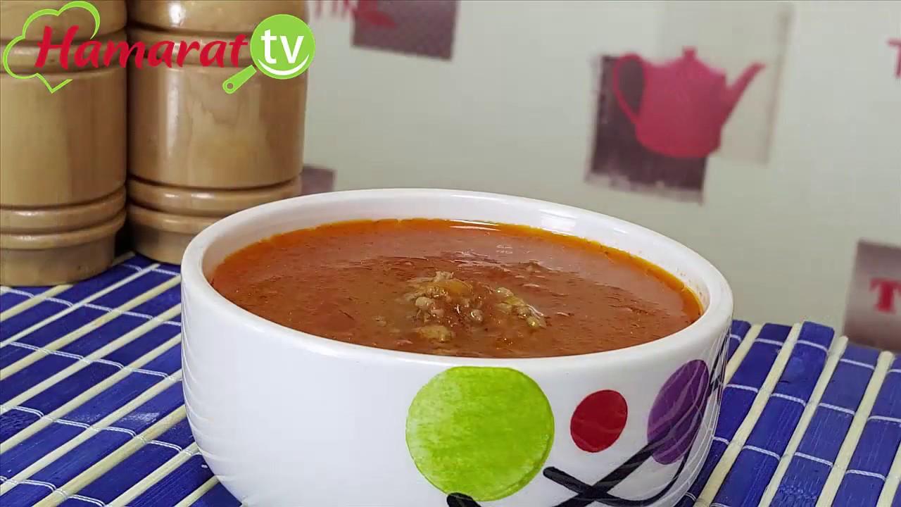 Kıymalı Baharatlı Çorba