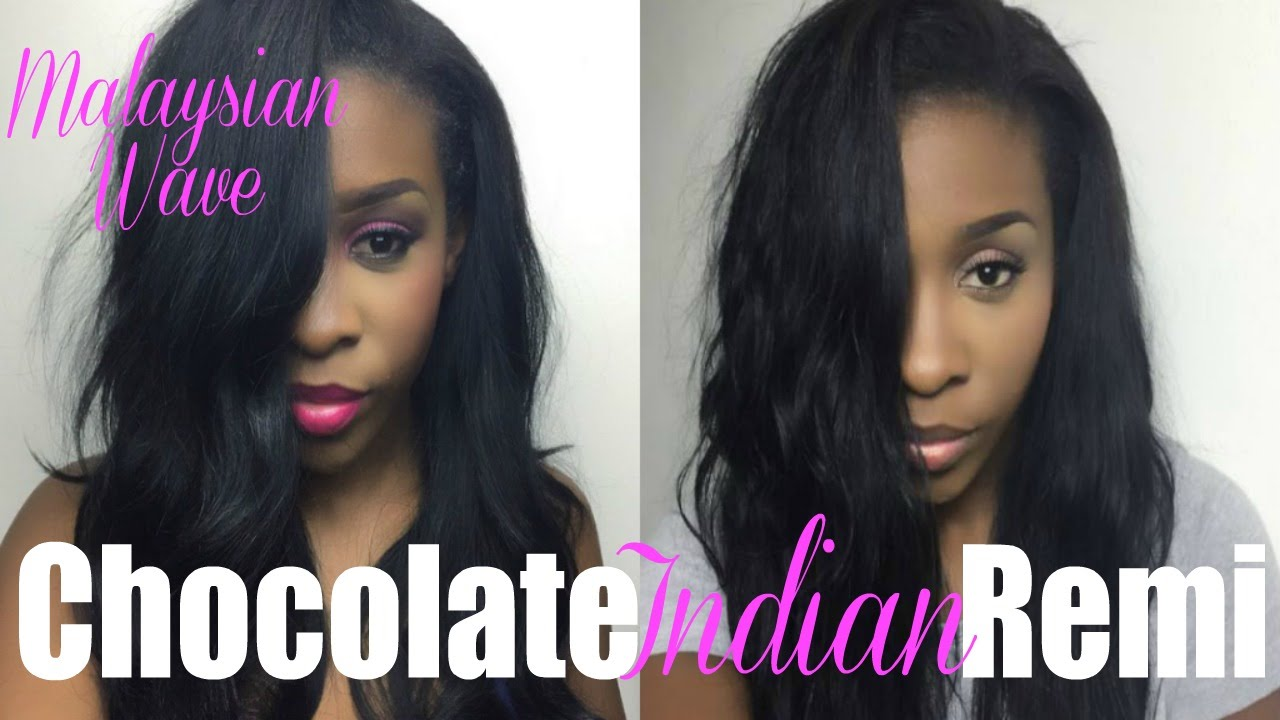 Chocolate Hair Indian Remi Thehairrock Malaysian Wavy Youtube