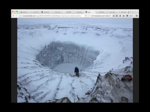 ELE Possible - Antarctica Melting Linked to Earths Core Temp Rising from Nuclear Fallout