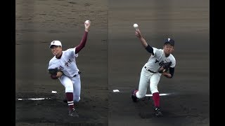 常総学院vs大阪桐蔭 ダイジェスト(2017/三重県招待高校野球)