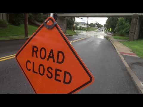 Lehigh Valley Weather / Floods VLOG August 13, 2018