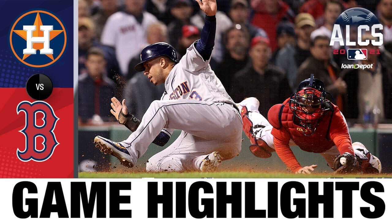 Download Astros vs. Red Sox ALCS Game 4 Highlights (10/19/21) | MLB Highlights