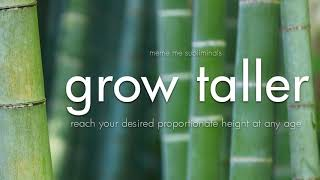 GROW TALLER: Activate Rapid Height Growth - Subliminal Affirma…