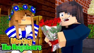 MEETING THE NEW NEIGHBOURS! w/Little Carly (Minecraft My New Life #4).