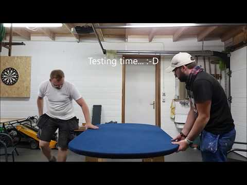 2 Idiots At Work - Making A Poker Table