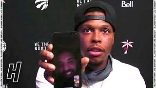 Drake FaceTimed Kyle Lowry During His Postgame Interview | March 24, 2021