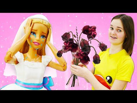 Смешные видео онлайн - Кукла Барби и свадебный Букет! – Игры для девочек в видео шоу Будет исполнено