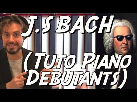 Tuto piano classique facile débutants - Prélude n°1 en C de J.S Bach