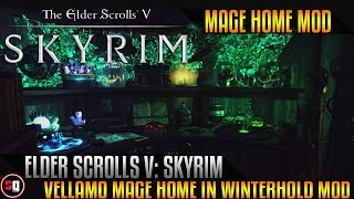 The Elder Scrolls V: Skyrim - Vellamo - Mage Home In Winterhold Mod