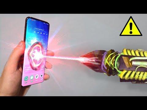 SAMSUNG Galaxy S18 Vs ЛАЗЕР 1000000W !