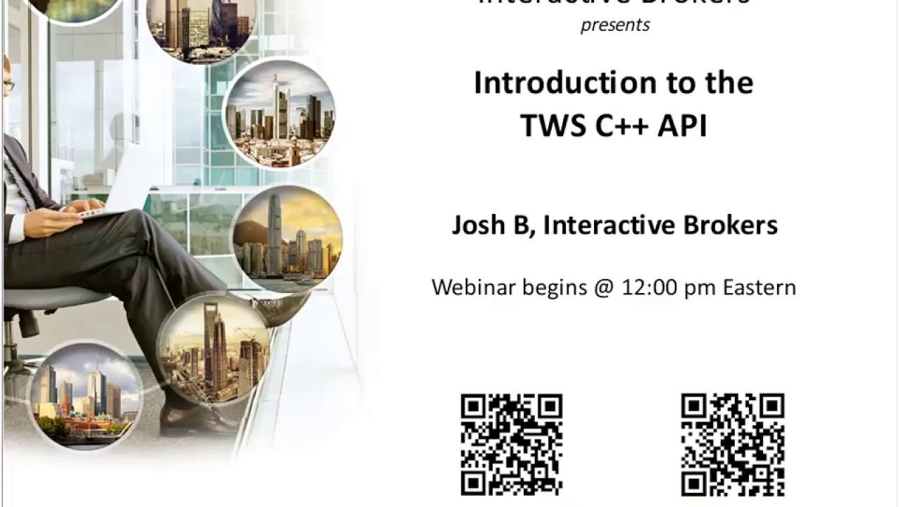 interactive brokers c++ api handelsvolumen für kryptowährungen